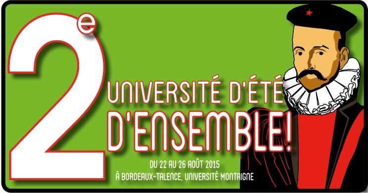 UNIVERSITE D'ENSEMBLE 2015