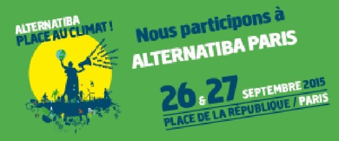 LE FESTIVAL ALTERNATIBA 26-27 SEPT 2015 PARIS
