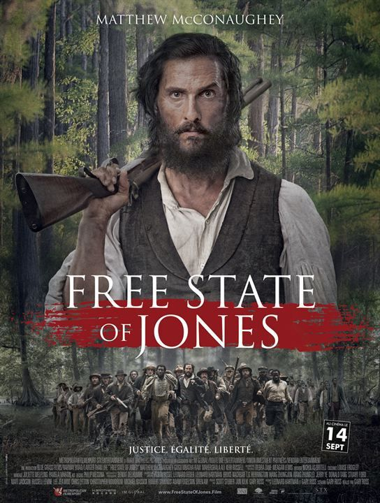 FREE STATES OF JONES – Matthew McConaughey