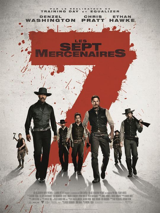 LES 7 MERCENAIRES –  Denzel Washington