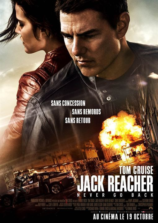 JACK REACHER  NEVER GO BACK – TOM CRUISE