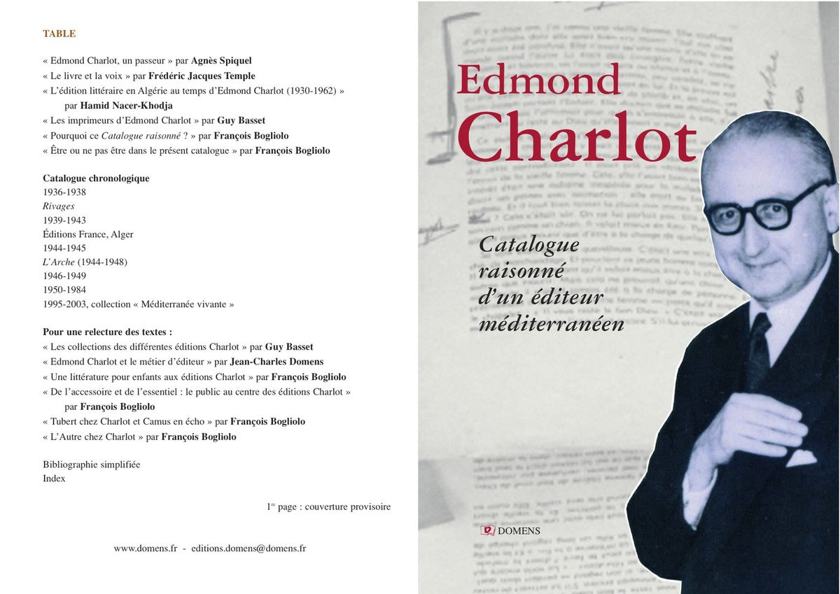 Centenaire d'Edmond Charlot