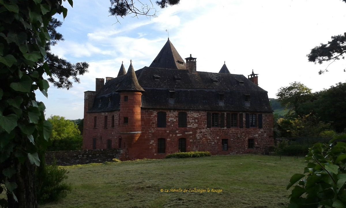 Le Castel de Vassinhac à Collonges la Rouge