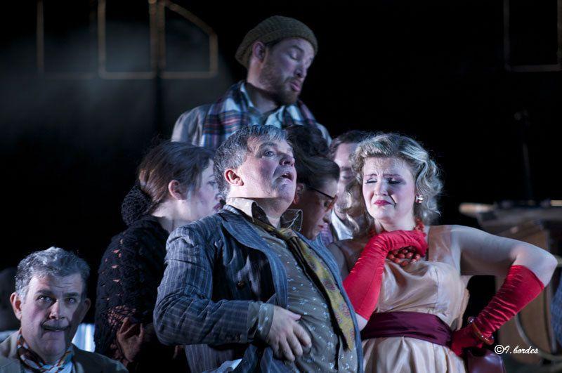 Photos originales de l'opéra «IL TRITTICO » de  GIACOMO PUCCINI à l'Opéra-Théâtre de Metz Métropole- (Dim.2 Oct. 2016 à 15H , Mar. 4 et Jeu. 6  Oct. à 20H)