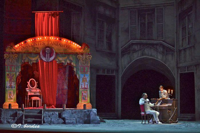 Photos originales de l'opéra «LES CONTES D'HOFFMANN »à l'Opéra-Théâtre de Metz Métropole- (Vendredi 16 et Mardi 20 Juin 2017 à 20H, Dimanche 18 Juin  à 15H)