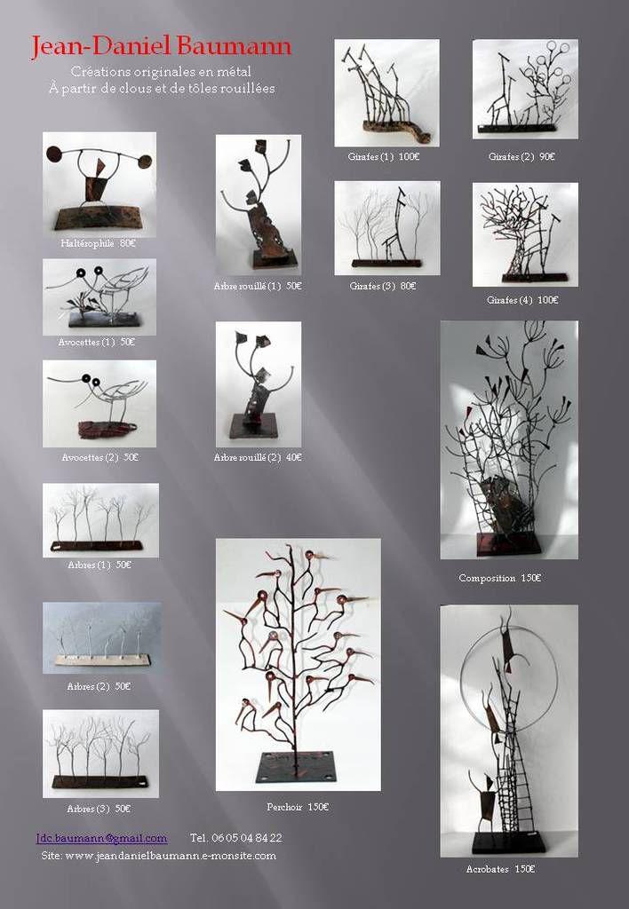 Sculptures de Marc Baumann à Ma Prima Cantina, Les Mureaux