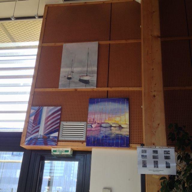 Jusqu'à fin Décembre : notre exposition à Ma Prima Cantina, Les Mureaux