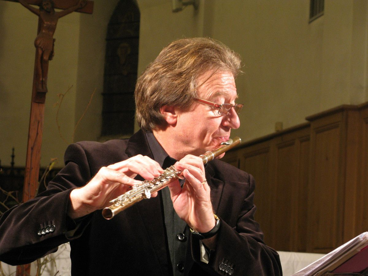 Luc Urbain, flûte