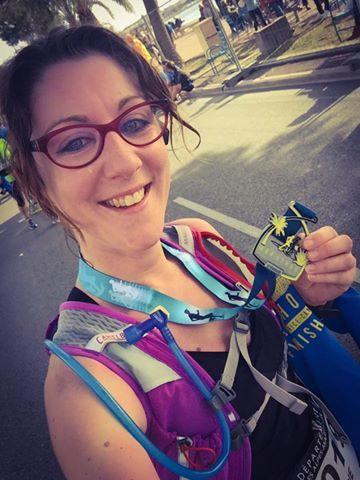 Bravo à notre nouvelle marathonienne !