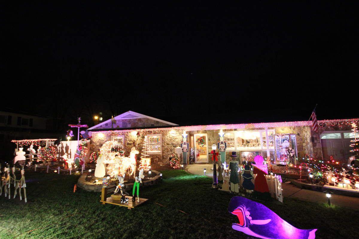 La folie des décorations de Noel