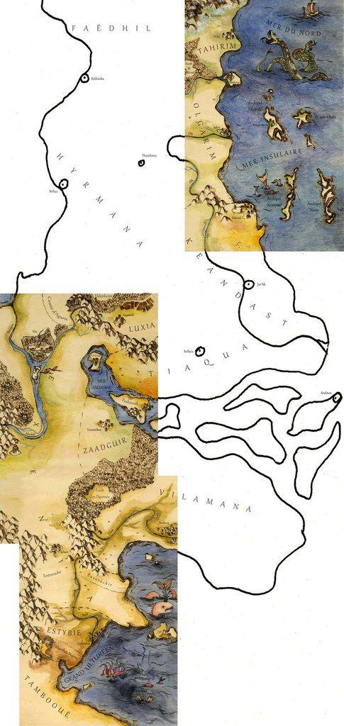 Chroniques de Karn - cartographie