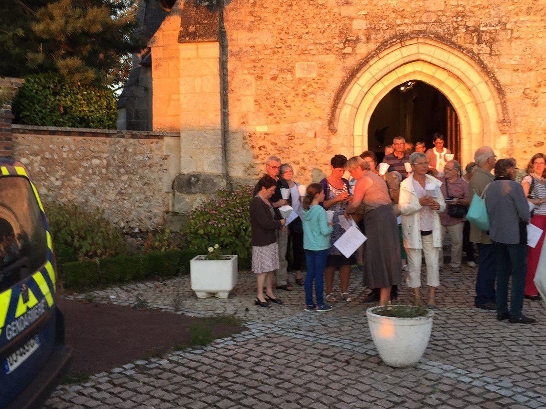 Pèlerinage à Faverolles la Campagne (Eure) et Notre-Dame d'Evreux
