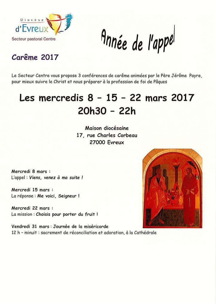 Paroisse -  Temps Ordinaire 2017