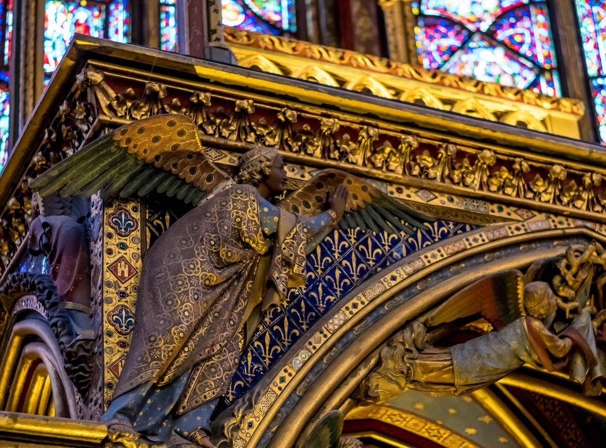 LA SAINTE CHAPELLE_ SAINT LOUIS ROY DE FRANCE