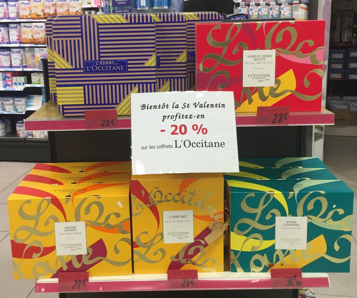 La St Valentin approche : promotion -20% à la pharmacie du Thouet