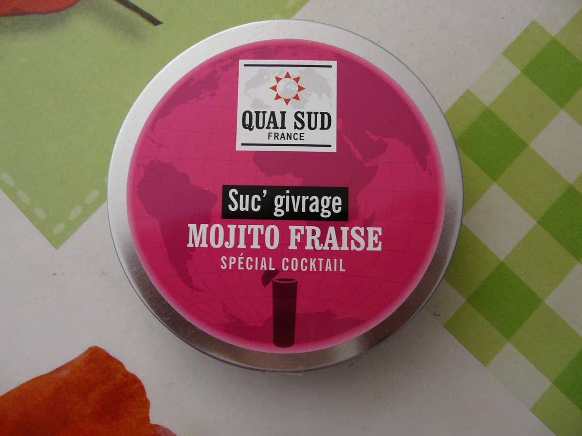 Suc'givrage mojito fraise spécial cocktail