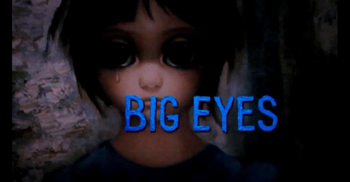 """""""Big eyes"""" 2014."""