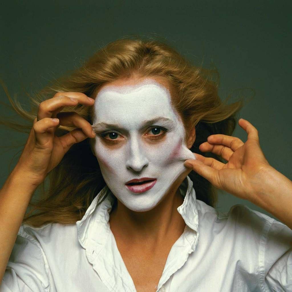 Meryl Streep photographiée par Annie Leibovitz. 1981.