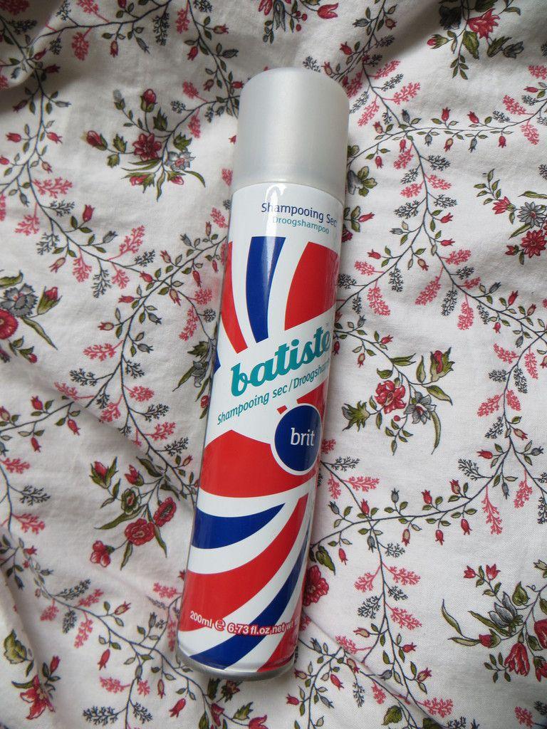 "Shampoing sec Baptiste ""Brit""."