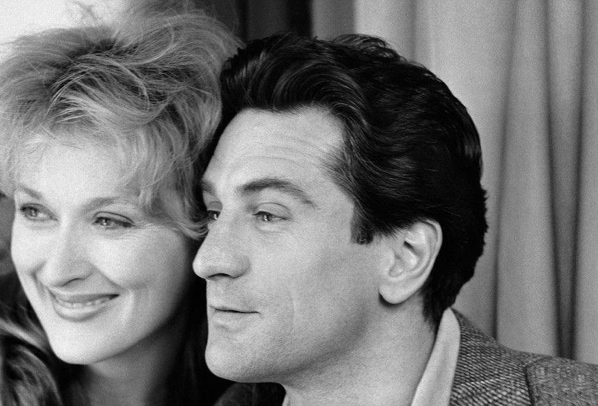 Meryl Streep et Robert de Niro. Falling in love. 1984.
