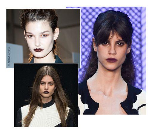 Tendance maquillage de l'automne-hiver 2015/2016