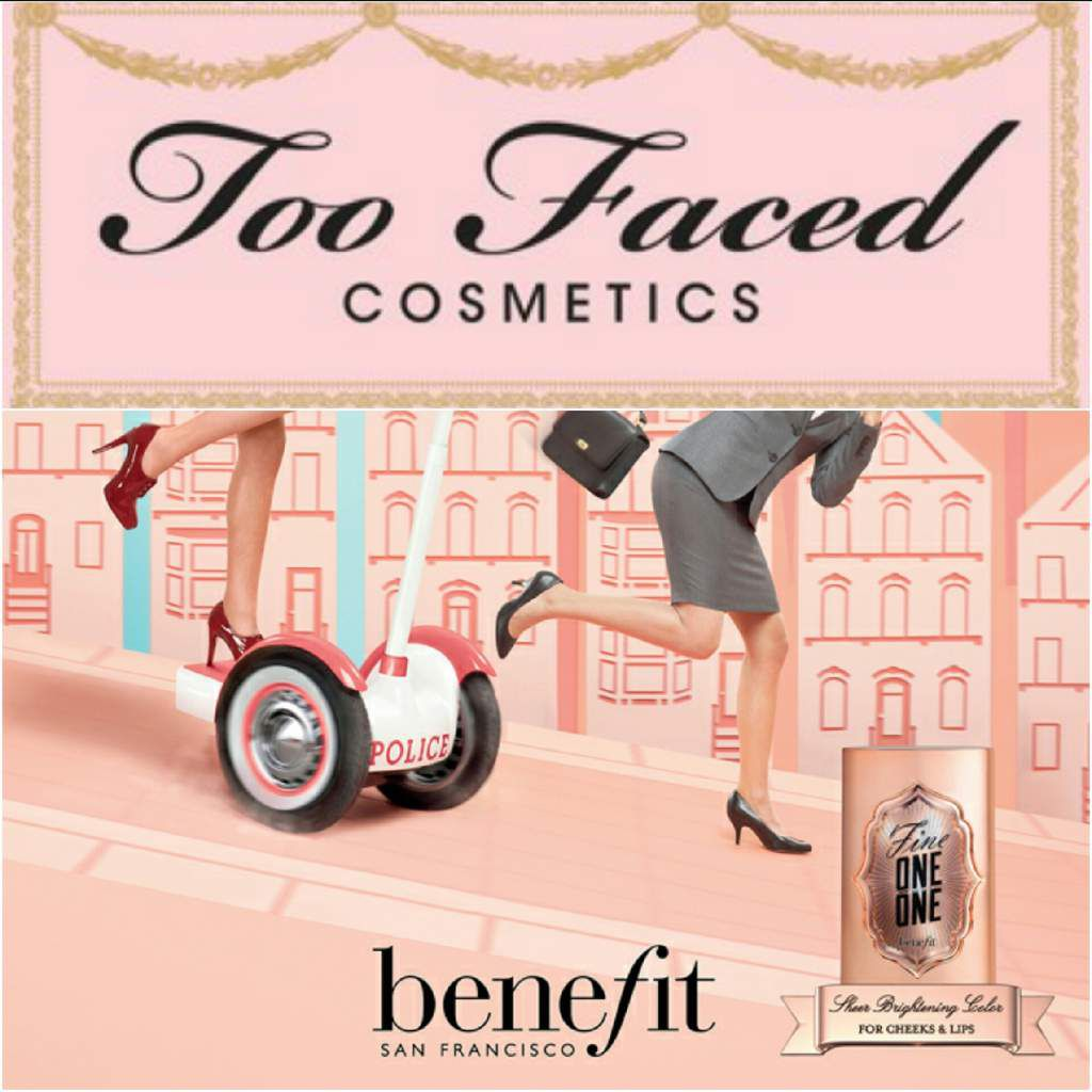 Coffrets Noël Benefit et Too Faced