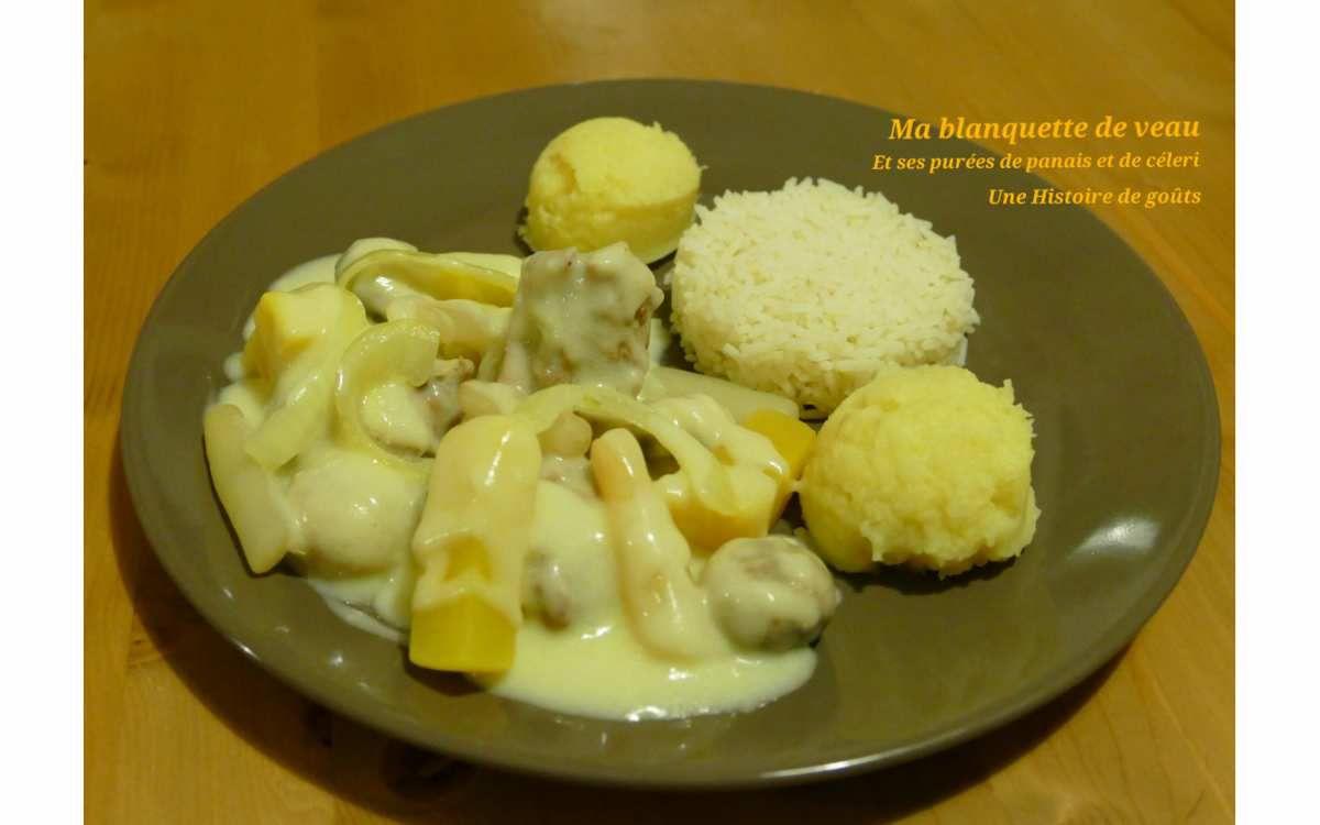 Ma blanquette de veau et ses purées de panais et céleri - Battle Food #36