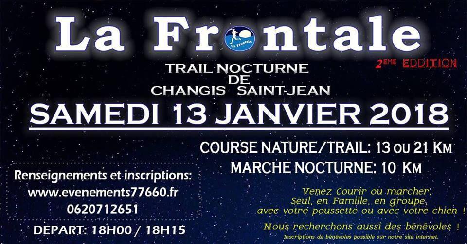[13/01/2018] Trail La Frontale