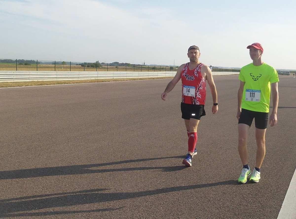 L'avant-course avec Jeff, encore un grand merci à lui et son fils pour les photos !