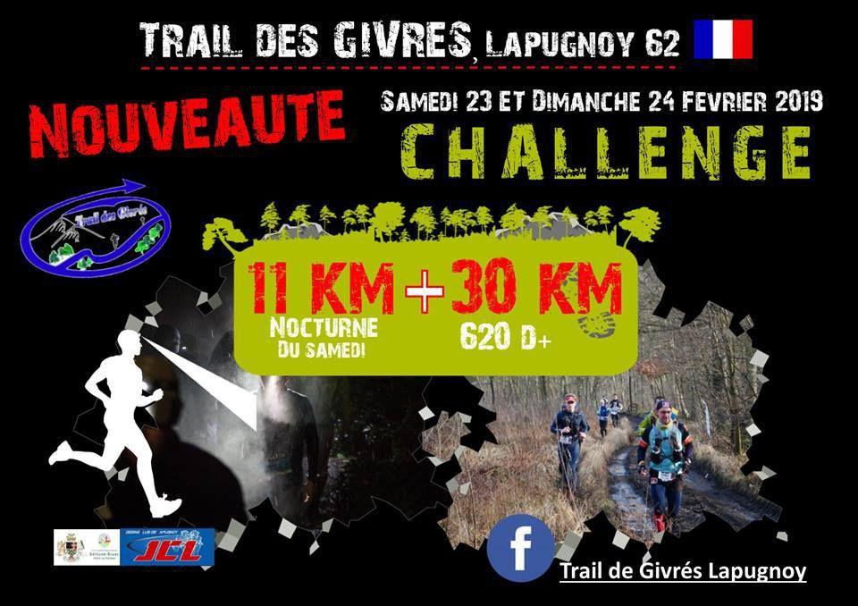 [24/02/2019] Challenge des Givrés - Trail 30km