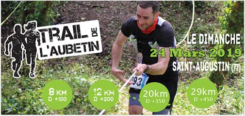 [24/03/2019] Trail de l'Aubetin