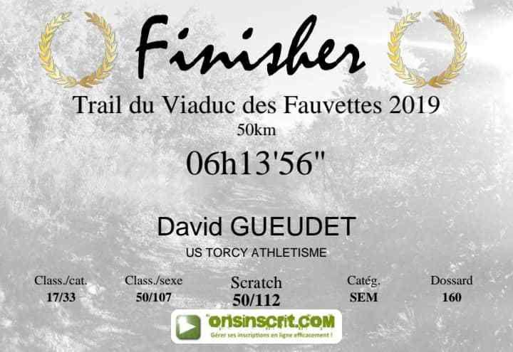 [05 & 06/10/2019] Trails du Viaduc des Fauvettes