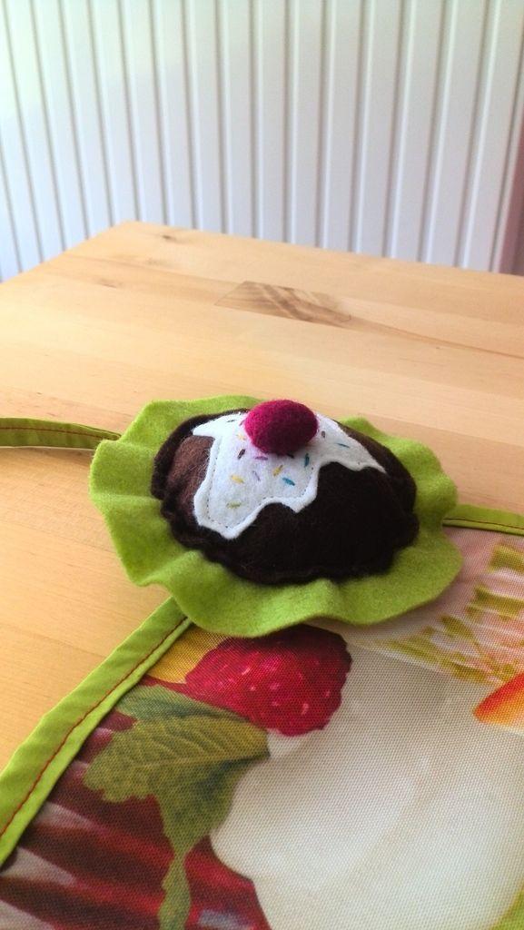 Tablier cuisine cupcakes