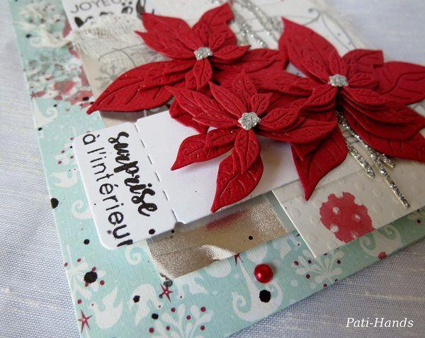 Carte enveloppe Joyeux Noël