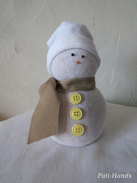 Nos bonhommes de neige !