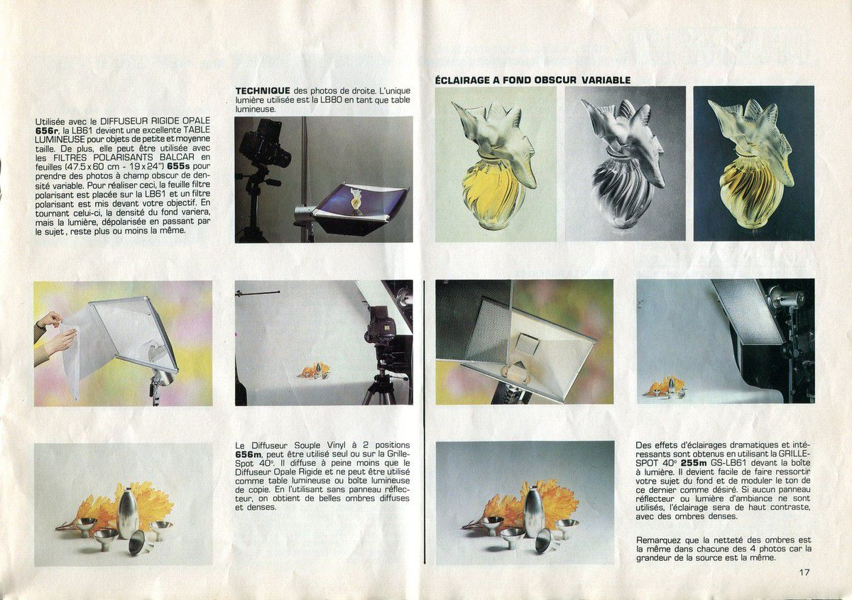 Catalogue Balcar 1970