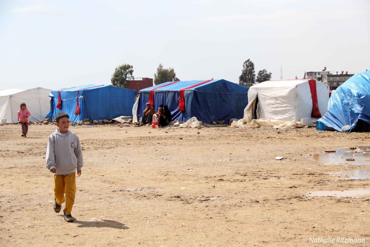 Devlet kuruluşu olmayan suriyeli kamp Adana'da