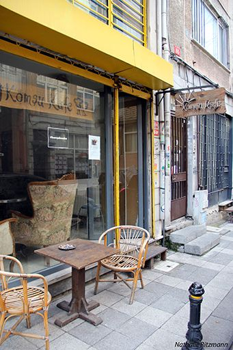 Komşu Kafe Collective, İstanbul