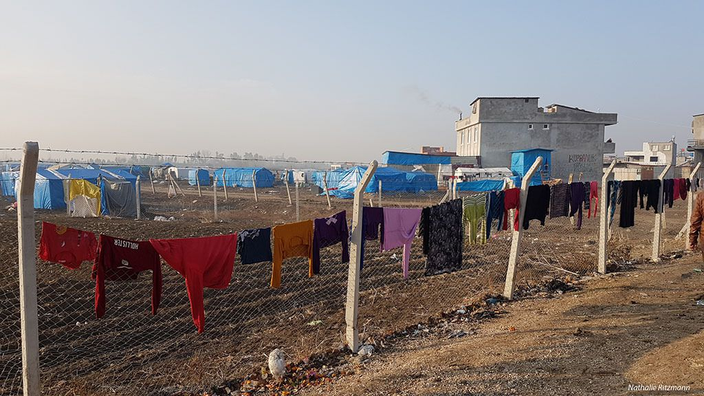 Adana'da suriyeli mültecilerin kampına ikinci ziyaret