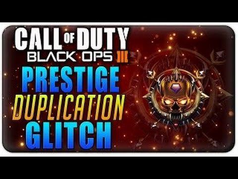 Duplication Master Prestige Black ops 3
