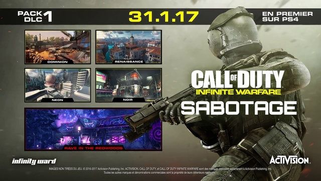Sabotage Call of Duty Infinite Warfare