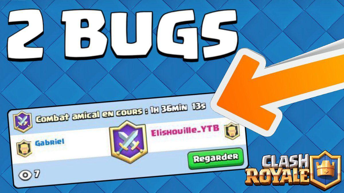 Bug Clash Royale