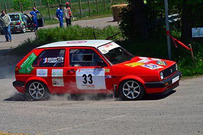 Ludovic Flament / Damien Beuvry - Volkswagen Golf GTI F2-14
