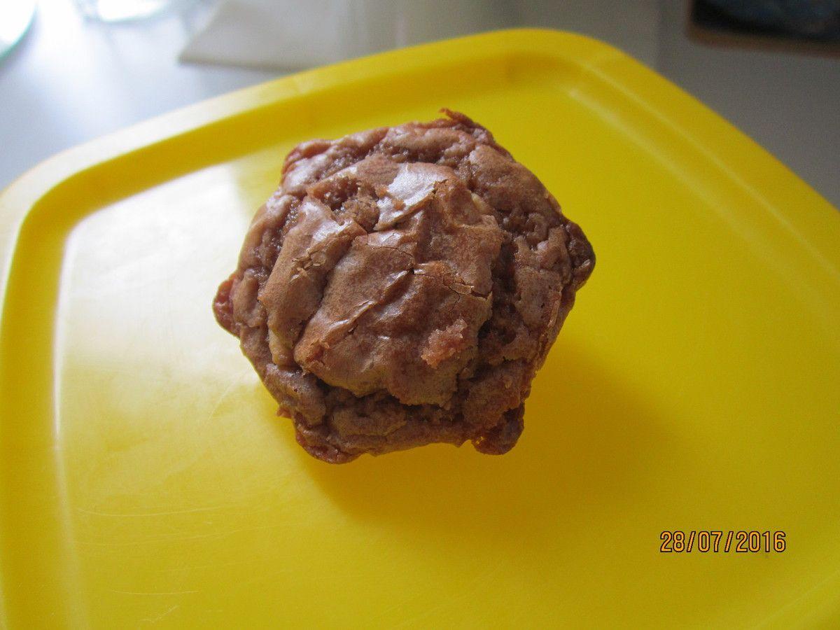 Mini brownies au chocolat praliné