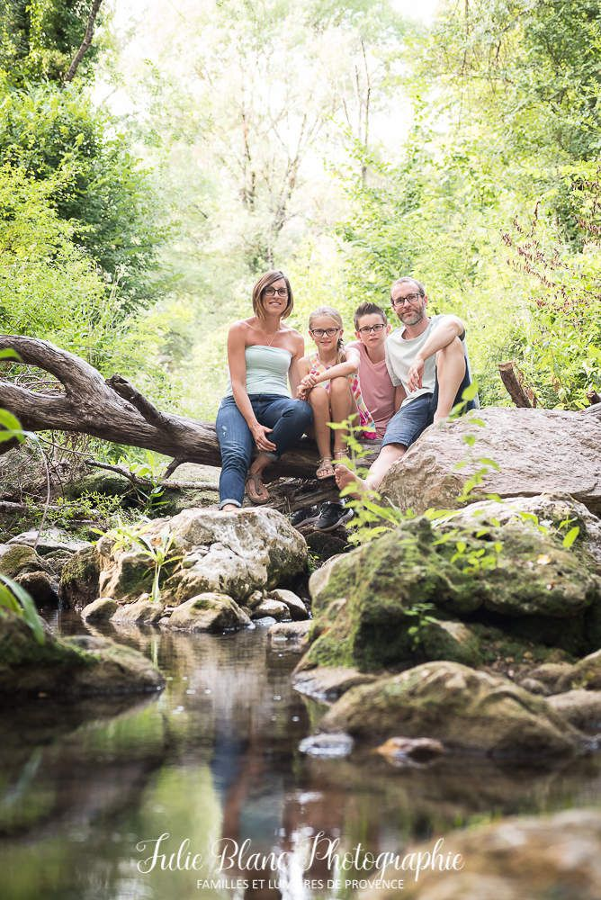 Séance en famille dans les Gorges
