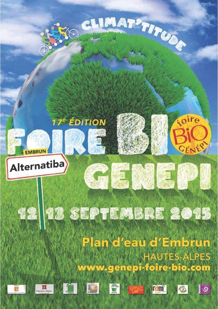 Stand Foire Bio Genepy le 12 septembre