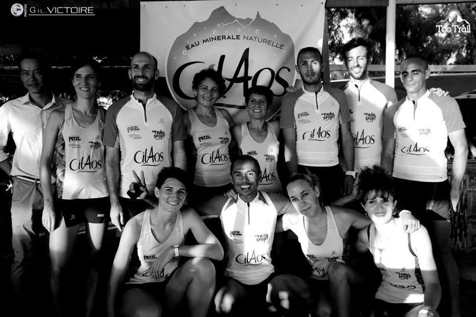 TEAM CILAOS -  2016,  ça coule de source
