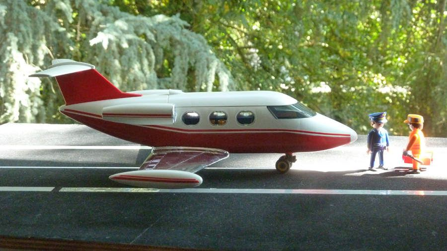 Learjet mobil