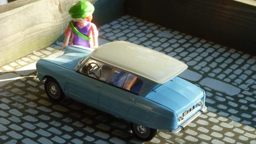 Auto vintage : La Citroën AMI 6