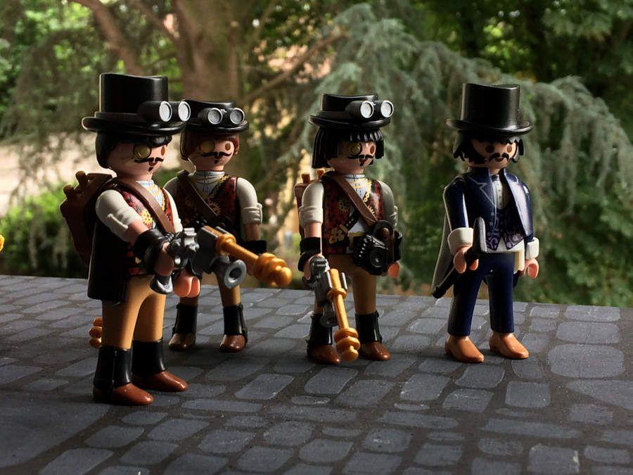 La steampunk-team